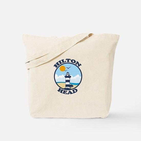 Hilton Head Island SC - Beach Design Tote Bag