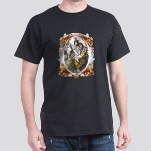 All Attractive Couple Cameo 1 Black T-Shirt