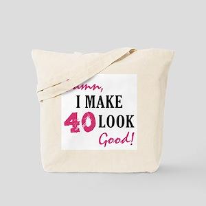 Hot 40th Birthday Tote Bag