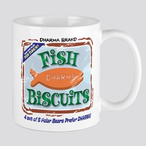 'Dharma Fish Biscuits' Mug