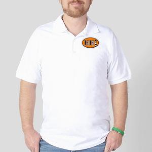 Hilton Head Island SC - Oval Design Golf Shirt
