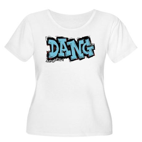 Dang Women's Plus Size Scoop Neck T-Shirt