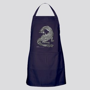 Hi Mum! Dragons Apron (dark)