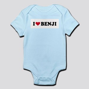 I LOVE BENJI ~  Infant Creeper