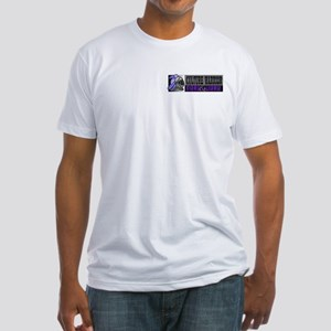 WE RESERVE THE RIGHT TO TELL  Fitted T-Shirt