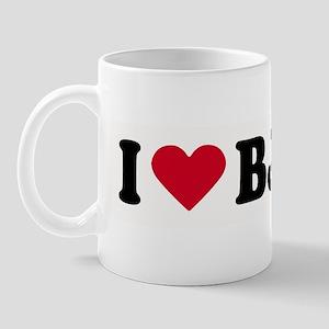 I LOVE BJ ~  Mug