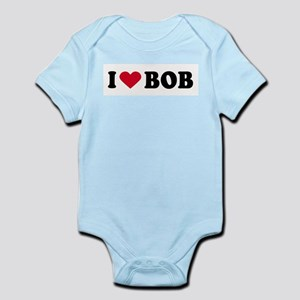 I LOVE BOB ~  Infant Creeper