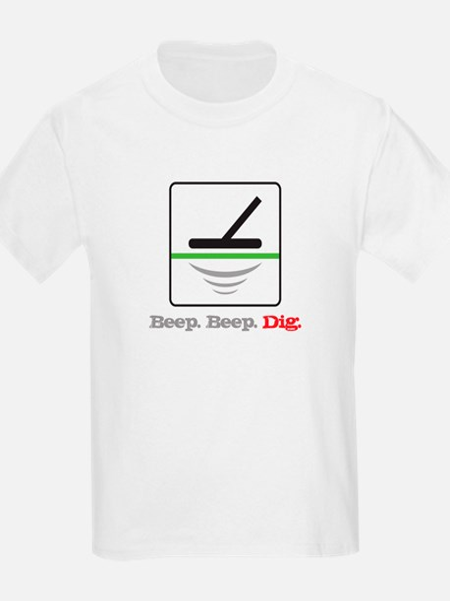Metal Detecting Beep Beep Dig T-Shirt
