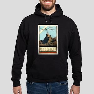 Travel South Dakota Hoodie (dark)