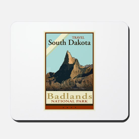 Travel South Dakota Mousepad