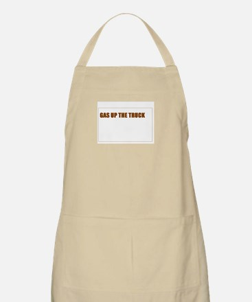 SCOTT BROWN - GAS UP THE TRUCK Apron