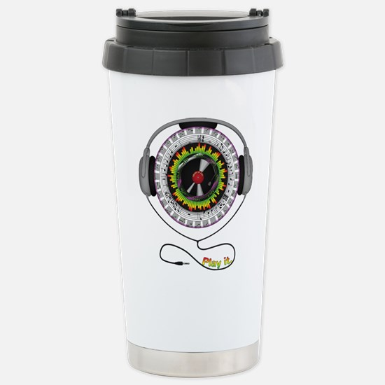 Music of Life Stainless Steel Travel Mug