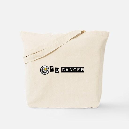 F U Cancer Tote Bag