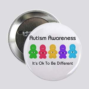 "Autism Ok Difference 2.25"" Button"