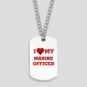 I love my Marine Officer Dog Tags