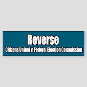 Citizens United v Federal Election Bumper Sticker