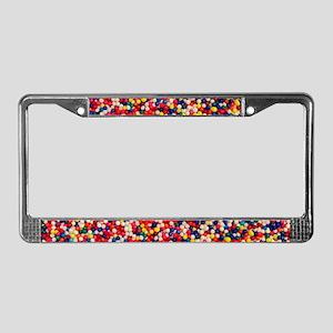 Candy Sprinkles License Plate Frame