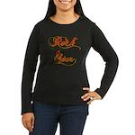 Rock Star Climber Women's Long Sleeve Dark T-Shirt
