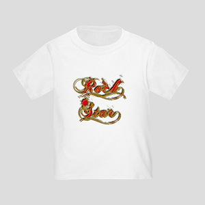 Rock Star Climber Toddler T-Shirt