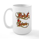 Rock Star Climber Large Mug