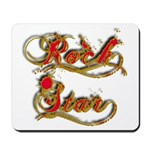 Rock Star Climber Mousepad