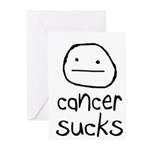 Cancer Sucks Greeting Cards (Pk of 20)