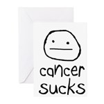 Cancer Sucks Greeting Cards (Pk of 10)