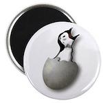 New Breed Software hatching penguin logo magnet