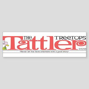 Treetops-Tattler Flag (Roz) Bumper Sticker