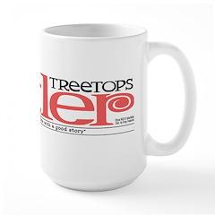Treetops-Tattler Flag (Roz) Large Mug