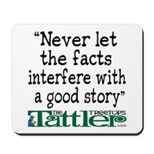 Never Let the Facts... (Shoe) Mousepad
