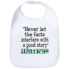 Never Let the Facts... (Shoe) Bib