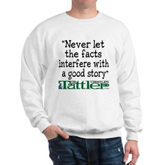Never Let the Facts... (Shoe) Sweatshirt