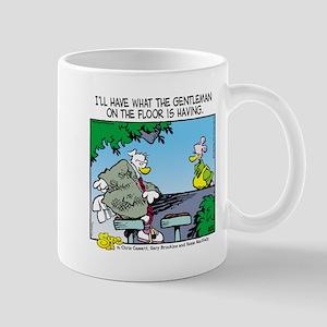 The Gentleman on the Floor Mug