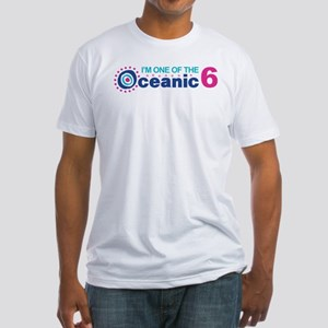 I'm One of the Oceanic 6 Fitted T-Shirt