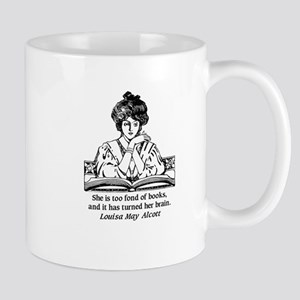 toofondbooks_journal Mugs