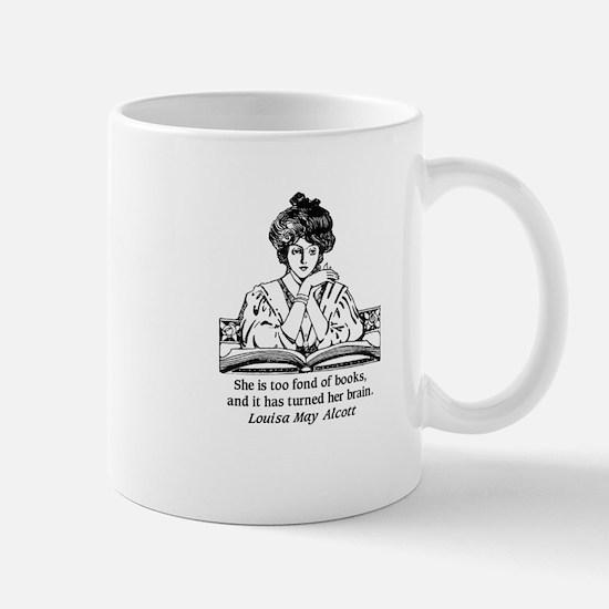 toofondbooks_journal Mugs