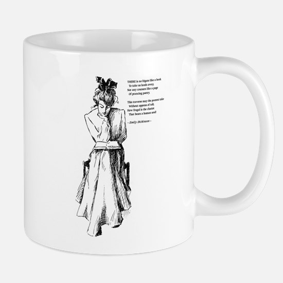 No Frigate Like a Book Mug