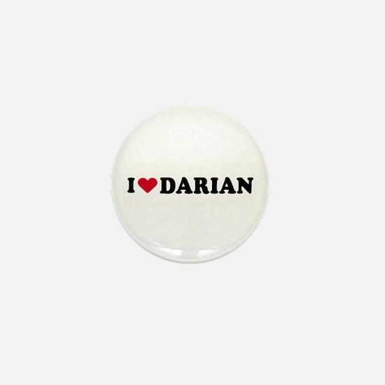 I LOVE DARIAN ~ Mini Button