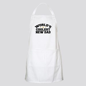 World's Coolest New Dad Apron
