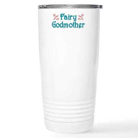 Fairy Godmother Stainless Steel Travel Mug