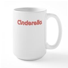 Cinderella (Salmon) Large Mug