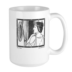 Batten's Mirror, Mirror Large Mug
