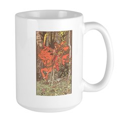 Bilibin's Red Horseman Large Mug