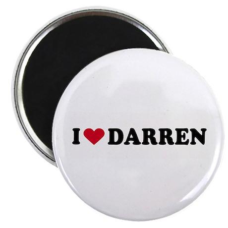 "I LOVE DARREN ~ 2.25"" Magnet (100 pack)"