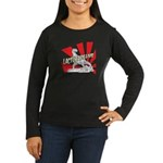 Lactobacillius Women's Long Sleeve Dark T-Shirt