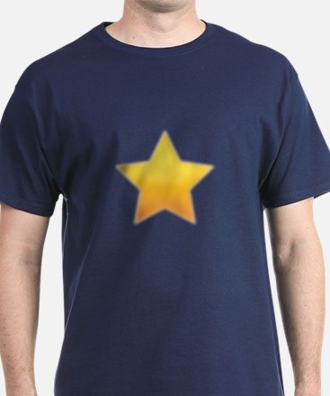 CRAZYFISH blurry star T-Shirt
