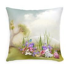 Easter Bunnies Everyday Pillow