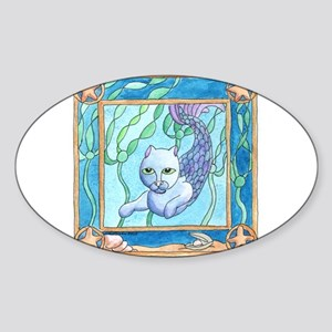 Ocean's Forest - Mercat Oval Sticker