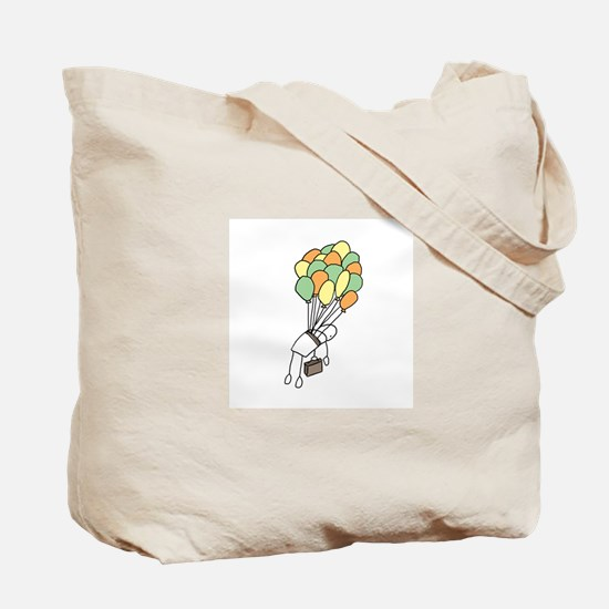 Unique Stick man Tote Bag